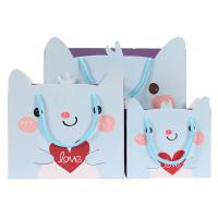 Wholesale Colorful Cute Shopping Bags Blue Hot Stamping And Scratch Resistance from china suppliers