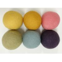 China Factory- outlet colored wool ball , wool dryer ball and wool dryer balls in laundry & discs on sale