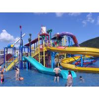 Wholesale Water Playground Equipment Commercial Spiral Water Slide 23 * 22 * 12m from china suppliers