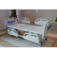 Wholesale Five Functions Electric Hospital Bed with PP side rails , Home Care Beds With Individual Locking Casters from china suppliers