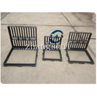 Wholesale lockable hot sales gully grate 600x600  500x500,drain cover, ductile iron GGG50-7,  black bituminous paint,machine mould from china suppliers