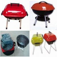 Wholesale Charcoal BBQ Grills with Bag and Chain, Bag Made of 600D Polyester, Double Safety from china suppliers