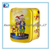 Wholesale Square Cookie Tin Box/XL-1096 from china suppliers