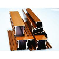 Wholesale Wood Grain Aluminium Sliding Door Profiles 6063 - T5 By Bending / Cutting from china suppliers