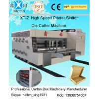 Wholesale Flexo Printing Corrugated Carton Machinery With Stacker High Speed 100 Pcs / Min from china suppliers