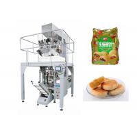 Quality Automatic Small Pouch Packing Machine For Tarts with Schneider Touch Screen for sale