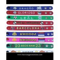 manufacture wholesale adjustable sport silicone wristband/personalized silicone bracelet for sale