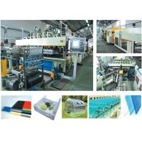 Wholesale PP PET PVC Plastic Film Extrusion Machine , PVC Profile Extrusion Machine ABB Motor from china suppliers