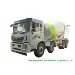 China HOMAN 8x4 12 Cubic Concrete Agitator Truck , Concrete Mixing Transportation Truck for sale