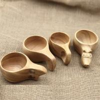 Wooden Water Cup/Salad Bowl,Made of Rubber Wood for sale