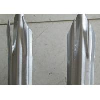 Wholesale Euro Style Metal Palisade Fencing For Airport , Triple / Single Point Top from china suppliers