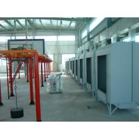 China Electrical Powder Coating Spray Painting Booths With Powder Recycling Machine on sale