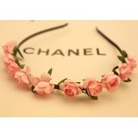 Wholesale 015 Fashion Korean Ethnic Beach Flower Garland Headband HairBand Head Jewelry Bohemian from china suppliers