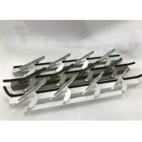 Wholesale 6 Inch Length Machining Aluminum Parts / Window Louvers WIth Punching from china suppliers