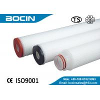 Buy cheap CE certificate Glass Cartridge Filter Element For gas liquid separation from wholesalers