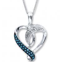 Wholesale Valentine's Day  Fashion Jewelry Necklaces The Diamond Heart Shape Necklace from china suppliers