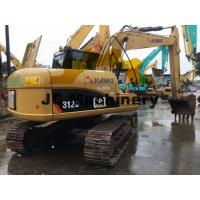 China 12 Ton Used CAT Excavators 312C With Strong Caterpillar Engine 4.3L Displacement for sale