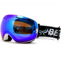 Wholesale Purple PC CA Lens Mirrored Snowboarding Goggles With Camera / G Sensor from china suppliers