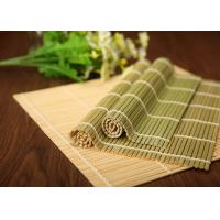 Wholesale Hand Made Craft Natural Bamboo Roll Up Mat For Japanese Sushi Making from china suppliers