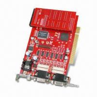 Wholesale MPEG-4 16CH Software Compressed Video Capture Card, Supports POS and ATM System from china suppliers