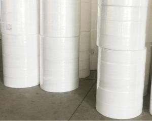 Wholesale White color melt-blown filter non-woven fabric textile material fabric woven fabric,Factory supply bfe99 meltblown nonwo from china suppliers