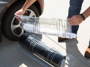 Wholesale Printed Self Adhesive 48'' 4 Mil Auto Carpet Protection Film from china suppliers