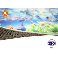 Wholesale Custom Size Printed Polyester Carpets Non Woven Back For Home / Theater from china suppliers