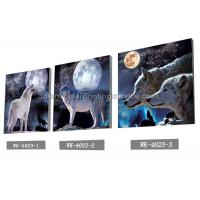Wholesale PET Plastic Printing Service / 3D Lenticular Pictures 40x40cm Home Decoration from china suppliers