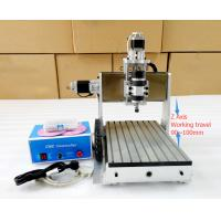 Wholesale 3 Axis Desktop Ball Screw 3020 Z Axis Mini CNC Router Engraver Drilling And Milling Machine from china suppliers