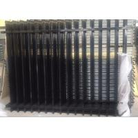 Wholesale Commercial Zinc Steel Fence Rails Industrial Steel Pipe Safety Fencing Panels from china suppliers