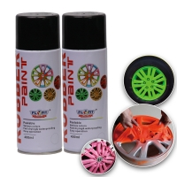 Wholesale 400ML Acrylic Rubber Spray Paint Exterior Red Dip Wheel Paint from china suppliers