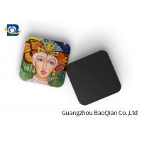 Wholesale Square Wine Tea Cup Custom Printed Coasters 3D Lenticular Printing Service from china suppliers