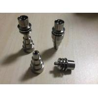 Wholesale 10/14/18mm male&female adjustable Grade 2 Titanium Domeless E-Nail Nail for 15.8mm Enail C from china suppliers