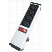Wholesale 4 Outlets PDU Power Strip and Switch with Circuit Breaker , Smart Multi Plug Extension Cord from china suppliers