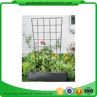 "Wholesale Sturdy Metal Vegetable Garden Trellis , Garden Green Bean Trellis 56"" trellis is 47-1/2"" H installed; 30"" W at the top a from china suppliers"