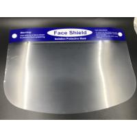 Buy cheap PE transparent material adult face shield isolation protective mask from wholesalers