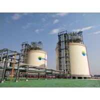 Quality Liquid Gas Full Containment LNG Storage Tank 10000m3 Double Tank Designed for sale