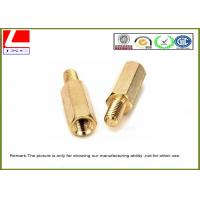 China High Precision Cnc Turning Male Female Thread Bolts , Brass Machined Parts For Fastener on sale