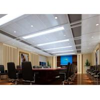 China Fireproof Aluminum Suspended Ceiling Tiles Acoustical For Office / Conference Room on sale
