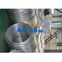 Wholesale TP316 / 316L Stainless Steel Welded Super Long Coiled Tube For Petrochemical Industry from china suppliers