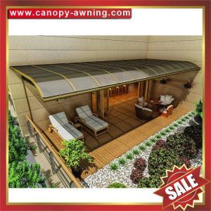 Buy cheap outdoor villa house garden patio gazebo balcony sunshade aluminum polycarbonate from wholesalers