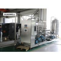 Wholesale Automatic Carbonated Filling Machine With Automatic Mass Flow Mixer Reducing  Precision Error from china suppliers