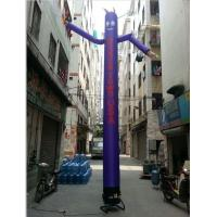 Quality 8m Height Inflatable Air Dancer , Oxford Cloth Inflatable Sky Dancer with 1 Leg for sale
