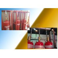 5.6Mpa Industrial Fm200 Fire Extinguisher System With 70L Cylinder