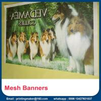 Buy cheap Wholesale Large Mesh Stage Banner Printing with hem&grommets from wholesalers