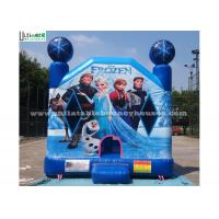 Wholesale Commercial Grade Kids Frozen Inflatable Bounce Houses With Obstacles For Parties from china suppliers