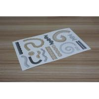 Wholesale Gold metallic temporary tattoo from china suppliers