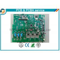 China FR-4 PCB Assembly Services , Green PCB Board Multilayer Automatic Metering Reading on sale