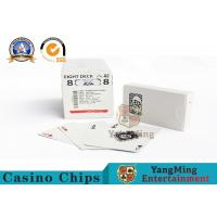 Wholesale High End Casino Playing Cards For Hotels And Clubs Casino Entertainment from china suppliers