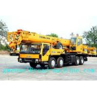 Wholesale Yellow Telescopic Boom Crane QY35K5 36930kg Truck Crane Energy - Saving from china suppliers